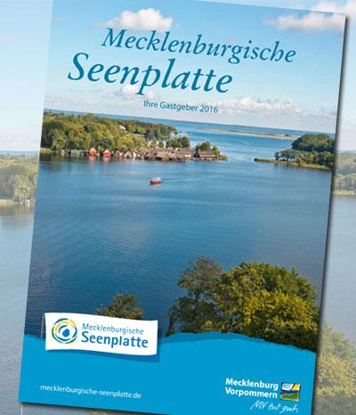 Gastgeberkatalog Mecklenburgische Seenplatte 2016