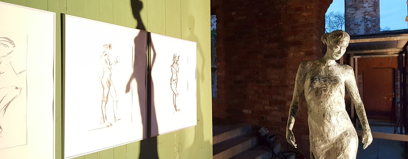 Skulptur, Kathrin Wetzel, Gessin