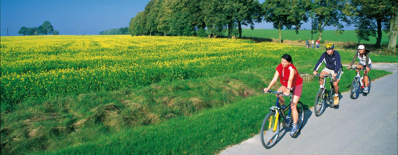 Radfahren, Mecklenburgische Schweiz
