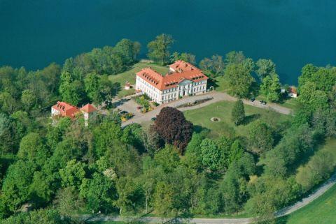 Schloss Schorssow Luftbild1