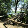 Beobachtungsturm Burgwallinsel Teterow Foto Koch