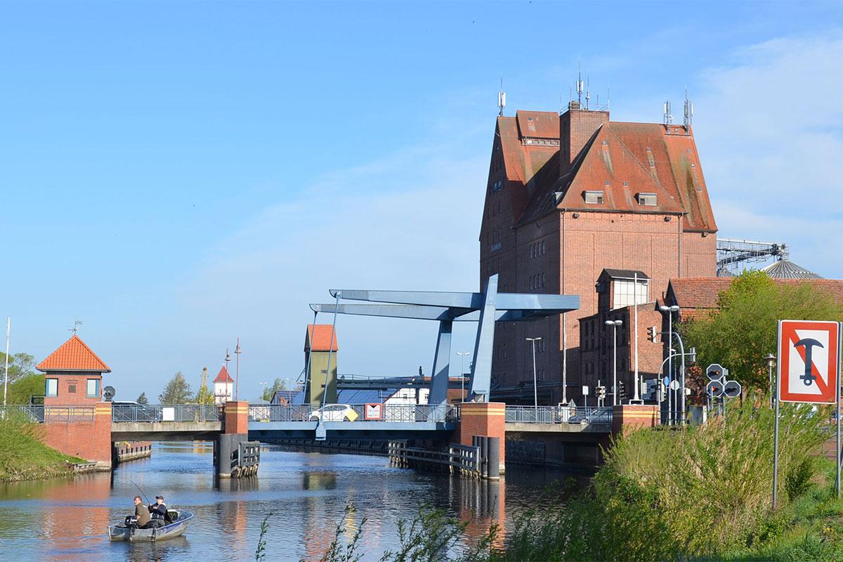 Klappbrücke, Hansestadt Demmin