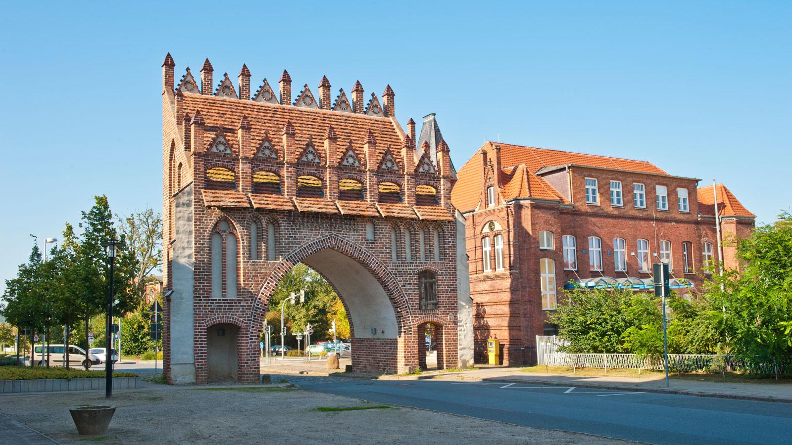 Malchin, Mecklenburgische Schweiz - Kalensches Tor