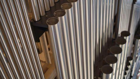 Die Orgel in der Konzertkirche