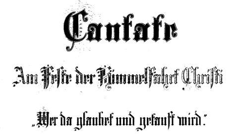 Bach-Kantate 37, Titel