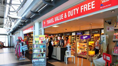 Duty Free Shop - Flughafen Rostock-Laage