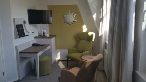 Ausstattung Doppelzimmer Villa Margarete