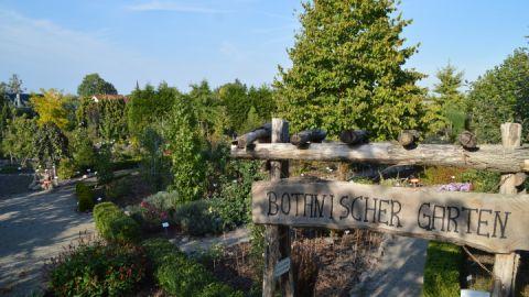 Eingang Botanischer Garten