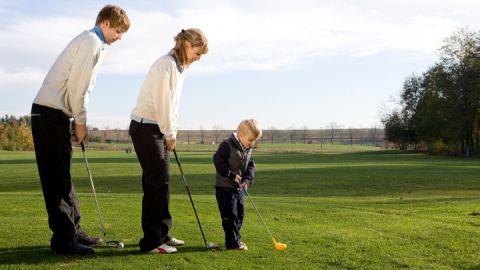 Golf in Teschow ist etwas für die ganze Familie