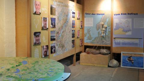 Kleine Ausstellung zum Naturpark