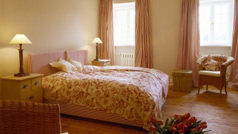 Ansicht eines Doppelzimmers einer Suite für 6 Personen