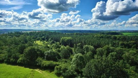 Landschaftsblick vom Ehrenmal