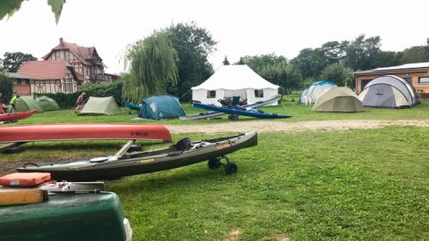 Campingplatz an der Peene