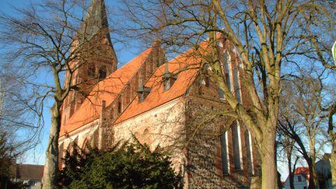 Nikolaikirche in Gützkow