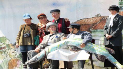 Theater zum Hechtfest in Teterow