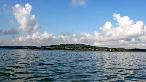 Der Kummerower See ist der viertgrößte See Mecklenburg-Vorpommerns