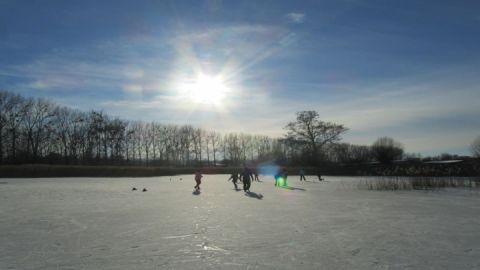 Wintervergnügen im Stadtpark