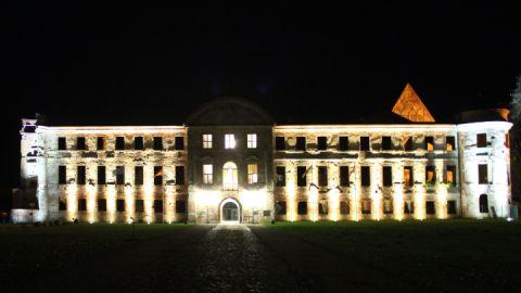 Fassadenbeleuchtung der Kloster- und Schlossanlage