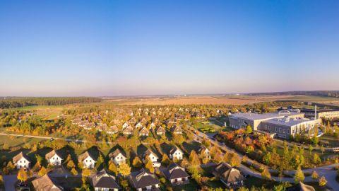 Luftbild Van der Valk Resort Linstow