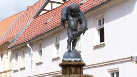 Hechtbrunnen Teterow