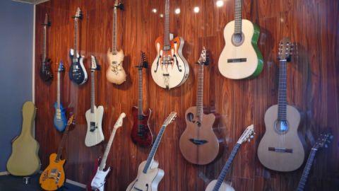 Showroom Instrumente