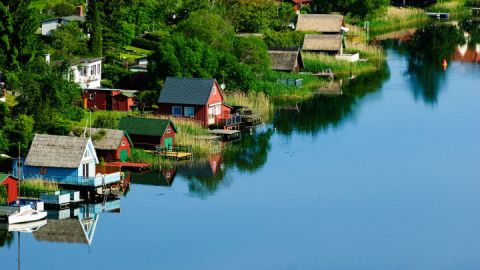 Stadtsee Krakow am See, Mecklenburgische Seenplatte