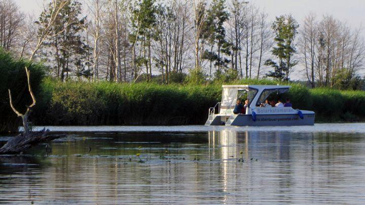Bibertour / Peenesafari im Solarboot