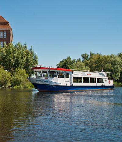 Fahrgastschiffe Mecklenburgische Schweiz